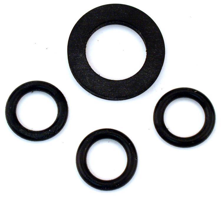 """Gardena ringenset rubber 1"""" 4-delig"""