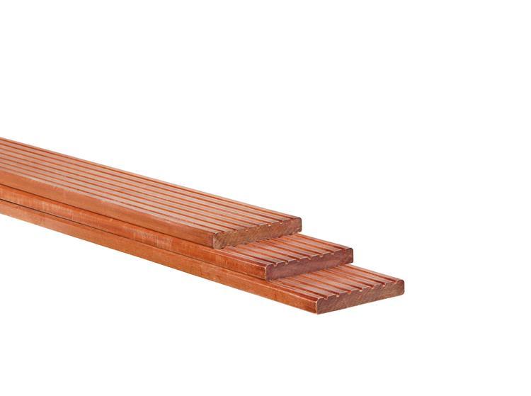Vlonderplank Massaranduba geschaafd (420 cm)