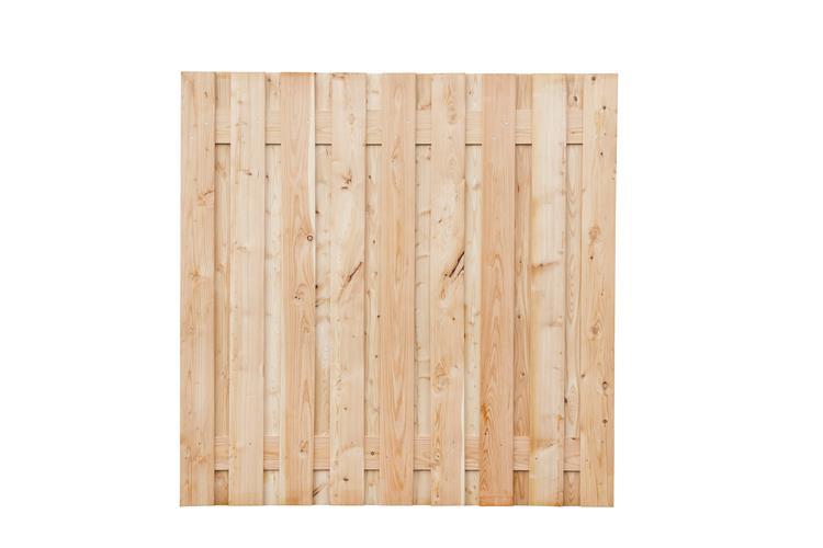 Tuinscherm Apeldoorn lariks/douglas geschaafd en onbehandeld (180 x 180 cm)