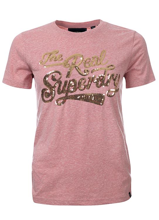 Superdry T-Shirt The Real Glitter