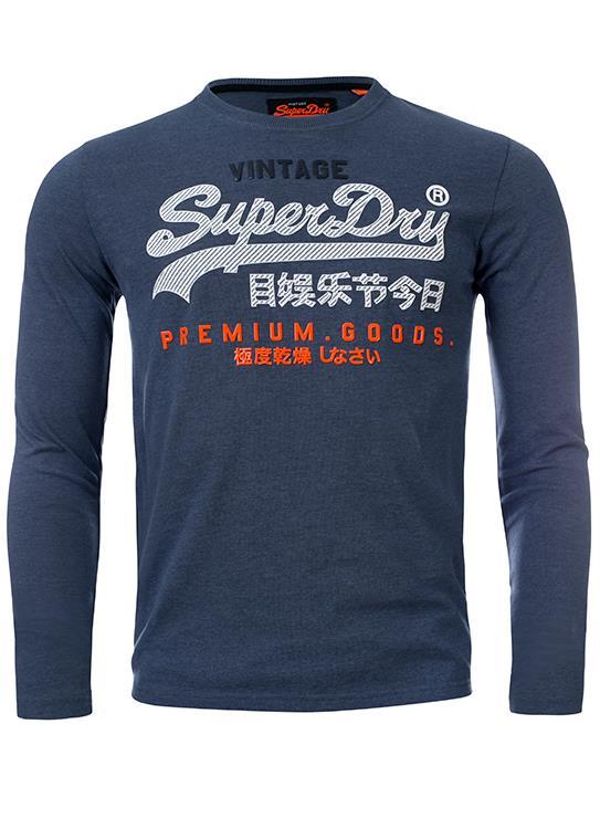 Superdry T-Shirt LS Infill