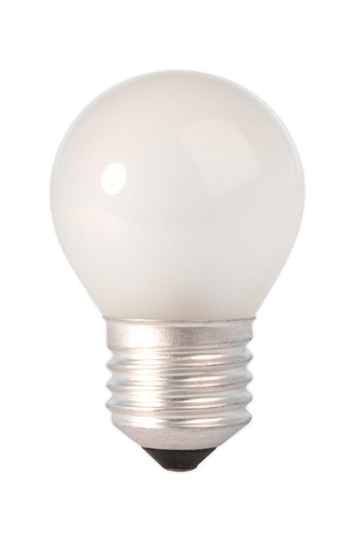 Kogel-nacht lamp 240V 10W 50lm E27 mat