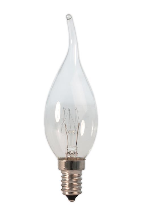 Tip Kaarslamp 240V 10W 55lm E14 helder