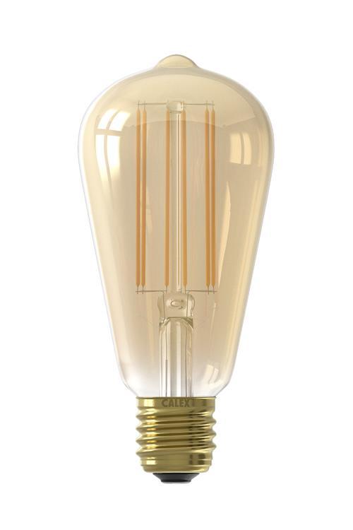 LED LangFilament Rusti 4W 320lm E27 2100K dim