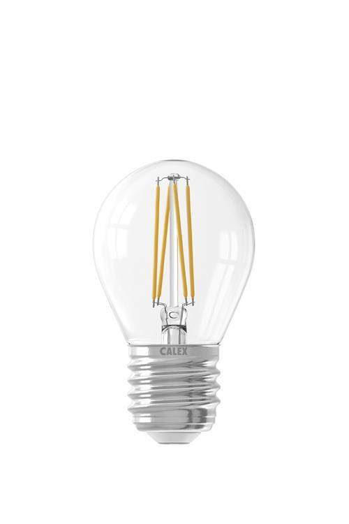 LED Fil.Kogellamp 4W 470lm, E27, 700K,Dimb.