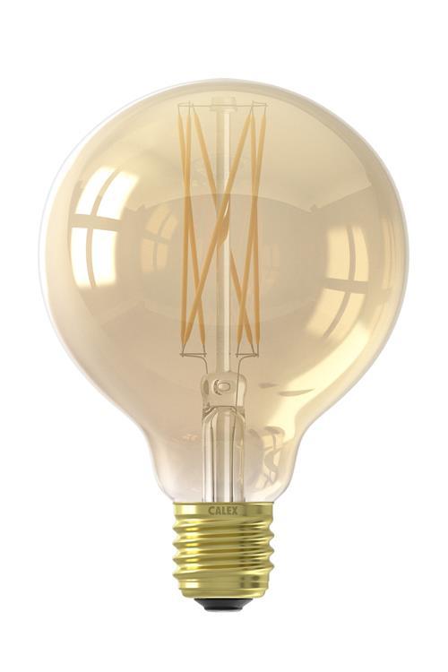 LED LangFilament Globe 4W 320lmE27 2100K dim