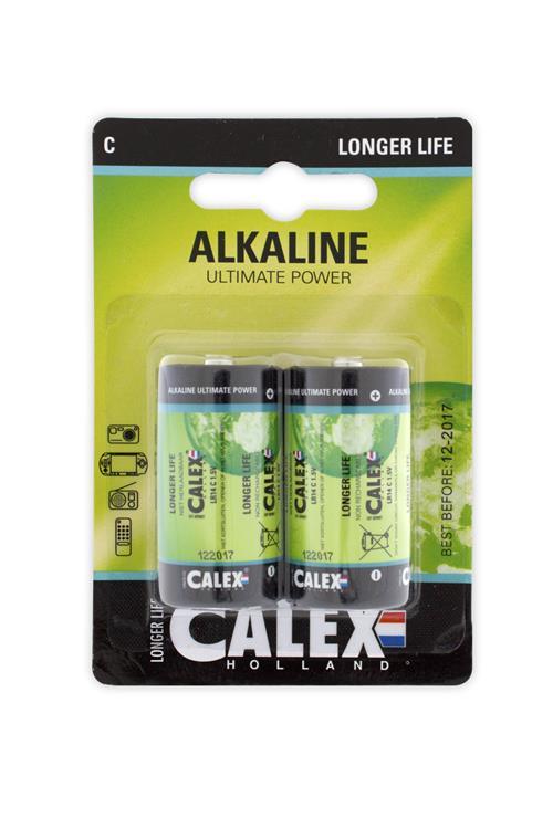 Alkaline kleine staaf LR14/C 1,5V bls 2st
