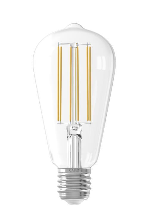 LED VG Filam. Rustieklamp 4W E27 ST64 Helder Dimb.