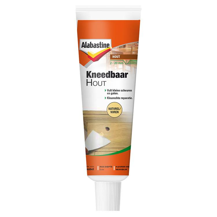 Alabastine kneedbaar hout nat/vuren 50 ml