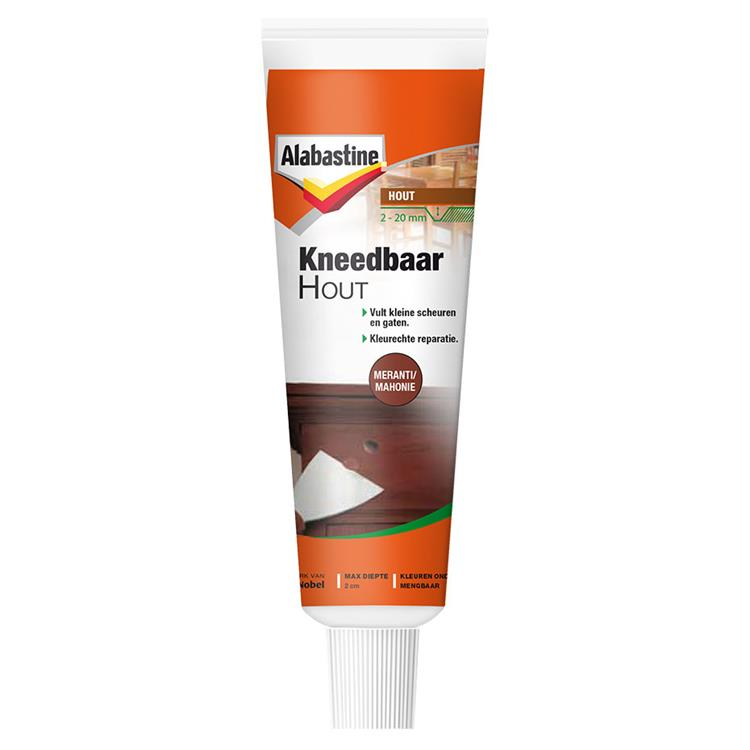 Alabastine kneedbaar hout mer/mahon 50 ml