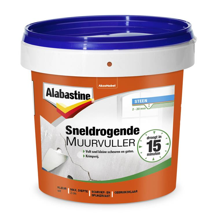 Alabastine sneldrogende muurvuller 1 kg