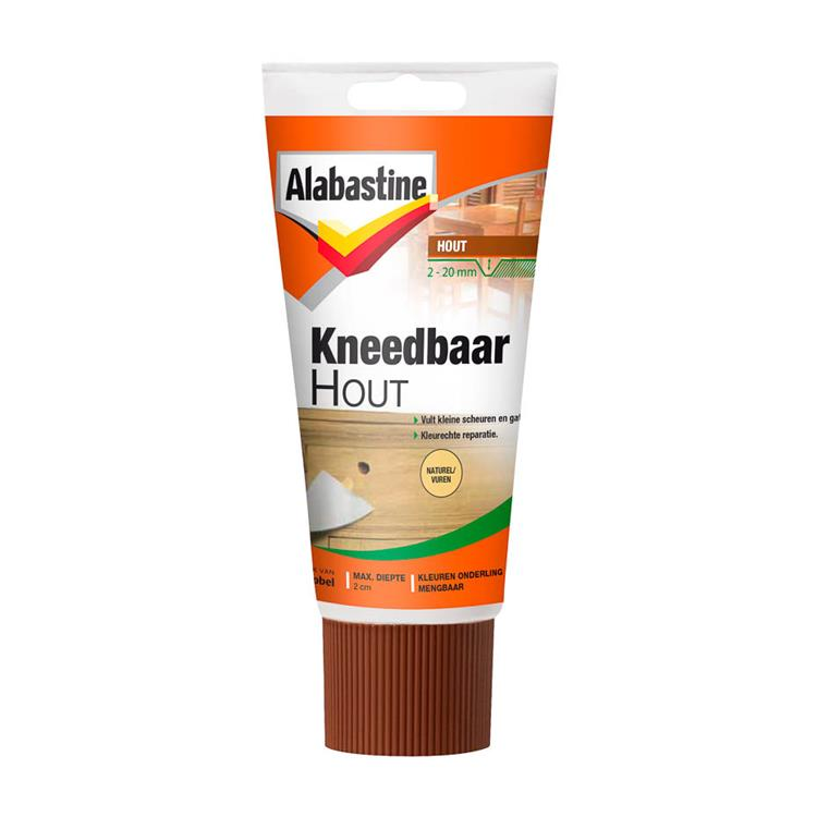 Alabastine kneedbaar hout naturel 200 gr