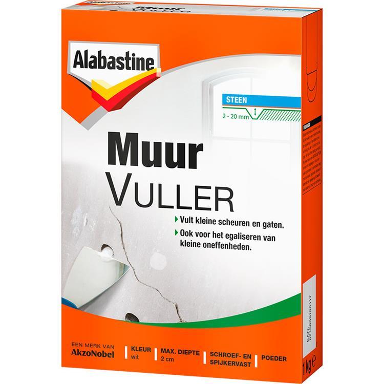 Alabastine muurvuller 1 kg