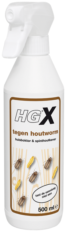 HG houtwormmiddel 500 ml