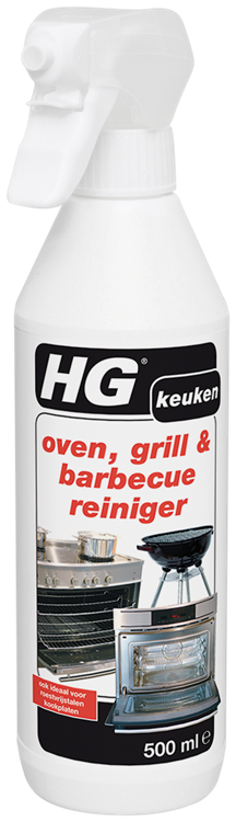 HG oven, grill & barbecuereiniger 500 ml