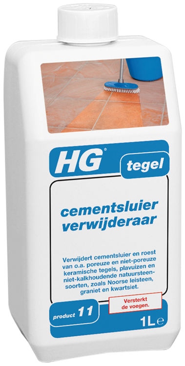 HG tegel cementsluier verwijderaar