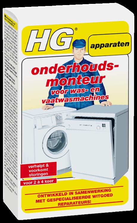 HG onderhoudsmonteur voor was- en vaatwasmachines 200 ml