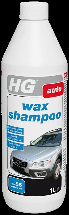 HG car wax shampoo 1 lt