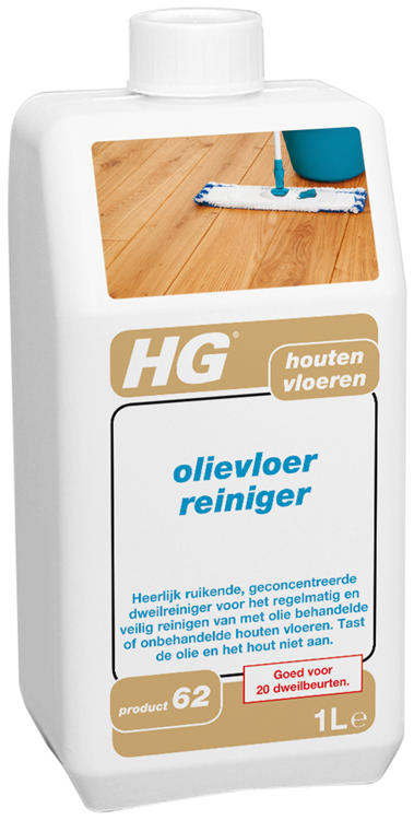 HG houten vloeren olievloer reiniger 1 lt
