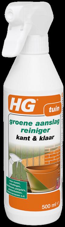 HG groene aanslagreiniger kant & klaar 500 ml