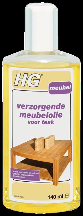 HG verzorgende meubelolie voor teak 140 ml