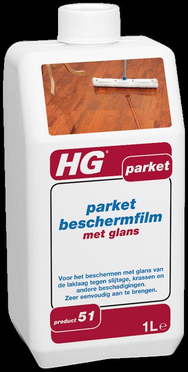 HG parket beschermfilm met glans 1 lt