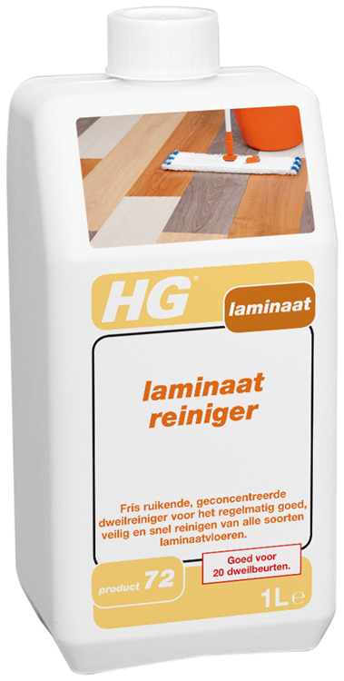 HG laminaat streeploos zonder glans 1 lt