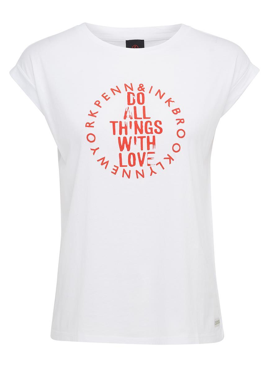 Penn Ink T Shirt Print